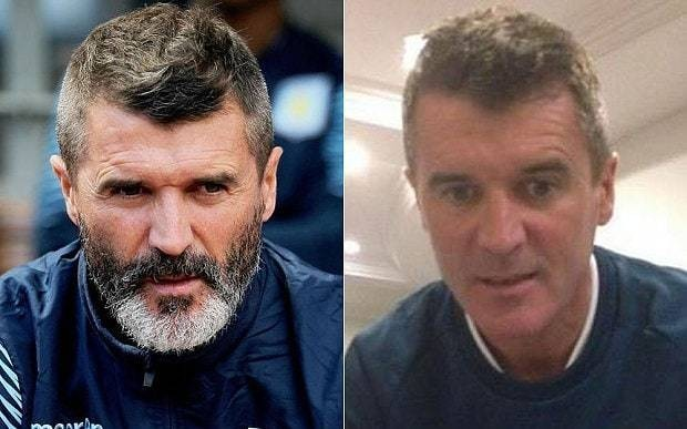 Roy Keane shaves off beard as Ireland attempt to drum up ticket sales for Euro 2016 qualifier