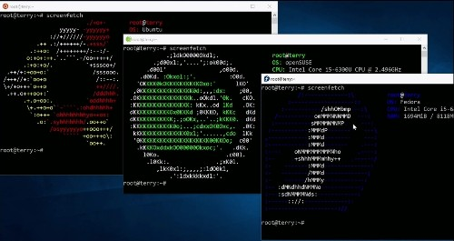 Bash on Windows 10 goes beyond Ubuntu and gets support for Fedora and SuSE, too