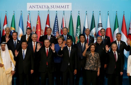 World Leaders Gather for G20 in Turkey: Pictures