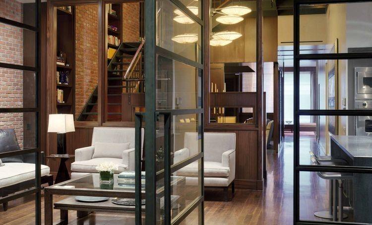 Articles about warm luxurious new york city duplex dramatic catwalk on Dwell.com - Dwell