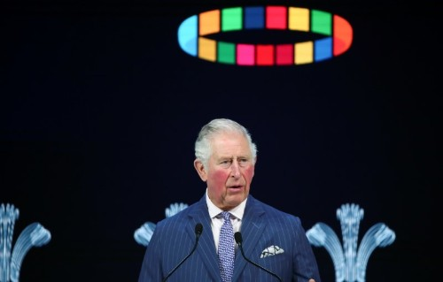 UK's Prince Charles says climate change is humanity's greatest threat