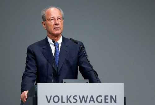 Small electric cars may be unaffordable for some: VW chairman to newspaper