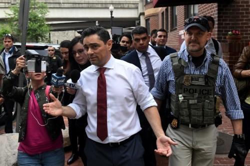 Venezuela opposition's envoy to U.S. meets Pentagon, State Dept officials