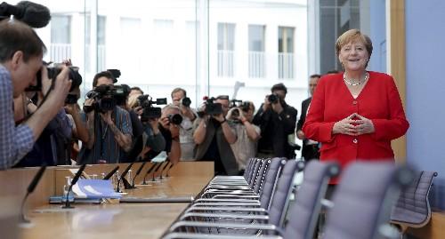 Germany's Merkel fends off worries about her health