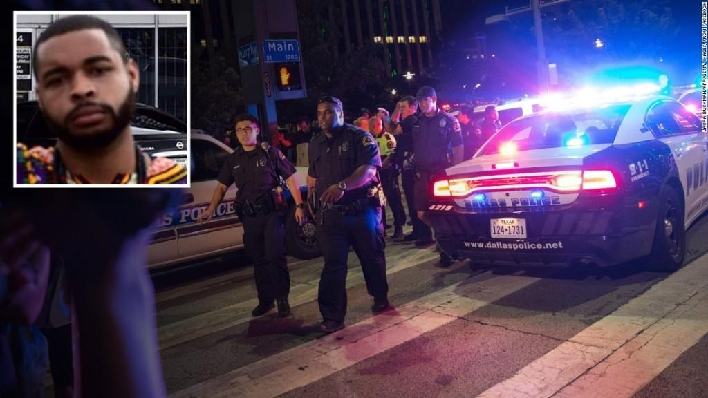 Dallas shooting: 5 officers die, suspect ID'd