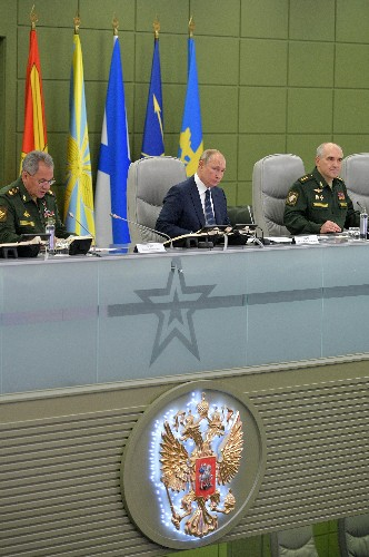 Putin directs exercise of Russian nuclear forces