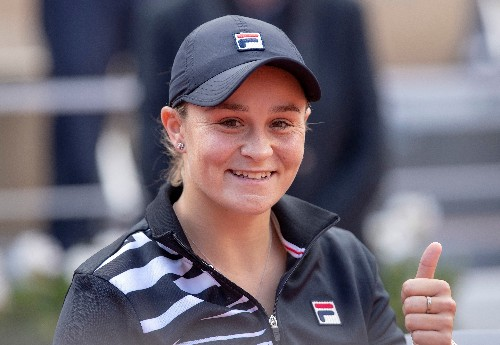 Australian Barty named WTA Player of the Year