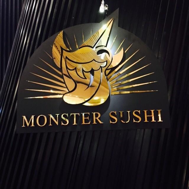 monster sushi - Magazine cover