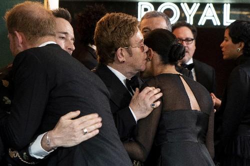 Elton John blasts 'relentless' character assassination of Harry and Meghan