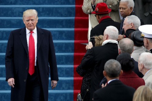 Donald Trump Sworn In As The 45th President Of The United States