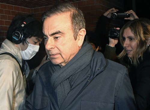New indictment expands case against Nissan ex-chair Ghosn