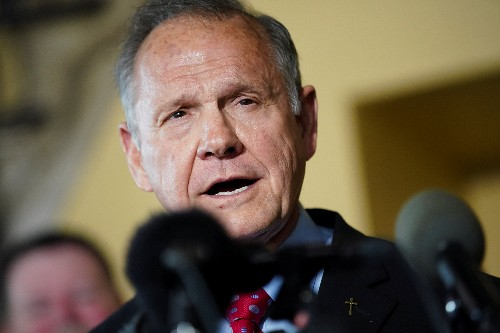 Alabama Republican Roy Moore weighs 2020 Senate bid despite party opposition