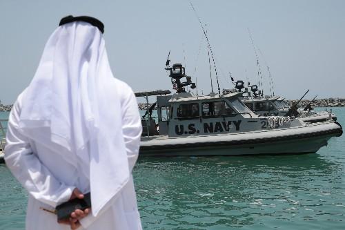 U.S. Navy says mine fragments suggest Iran behind Gulf tanker attack