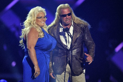 Wife of reality TV bounty hunter in medically induced coma