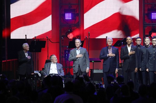 Lady Gaga and Five US Presidents at Hurricane Relief Concert: Pictures