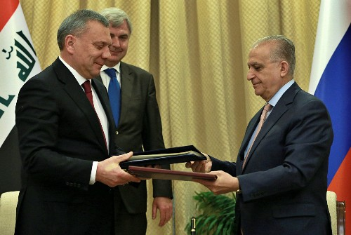 High-level Russian delegation in Iraq to discuss trade ties