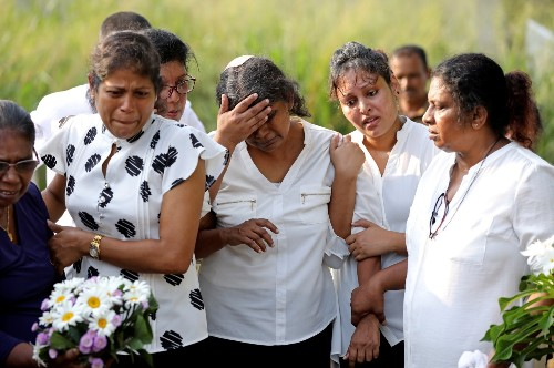Sri Lanka In Grief: Pictures