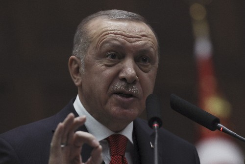 Erdogan demands stand against 'blood and chaos' in Libya