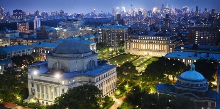 Columbia University - Magazine cover