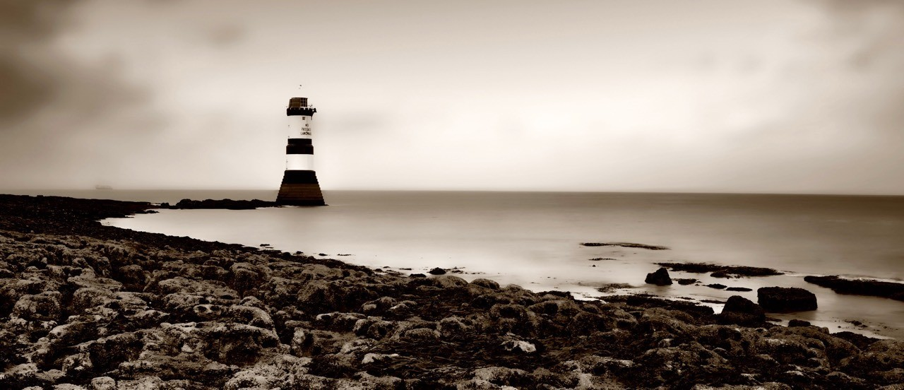 Black Point Lighthouse Penmon Anglesey