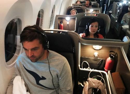 On board Qantas' ultra-long haul test flight