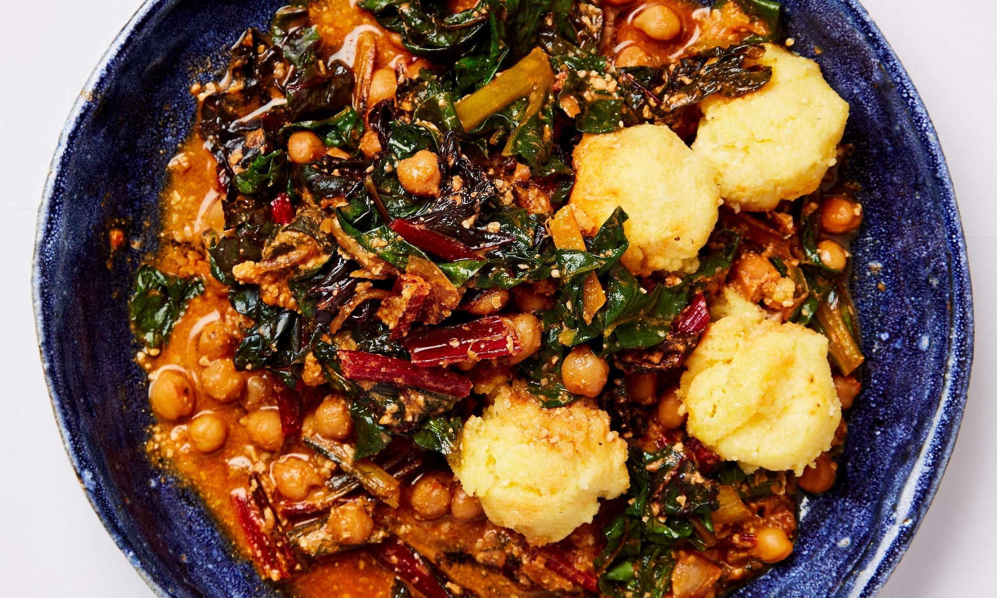 Meera Sodha's vegan recipe for chickpea, chard and sunflower seed stew