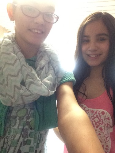 Me and Maria my friend