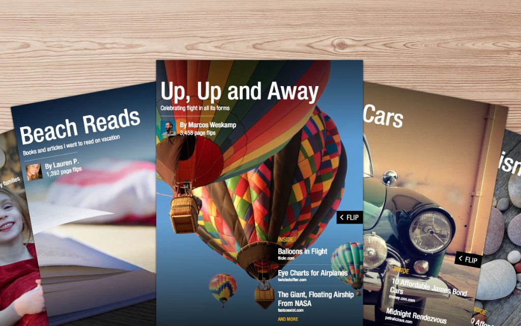 Using Flipboard - Magazine cover