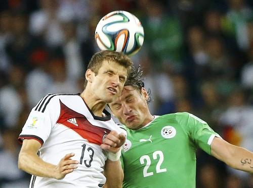 Vive La France! Germany Struggles: Pictures