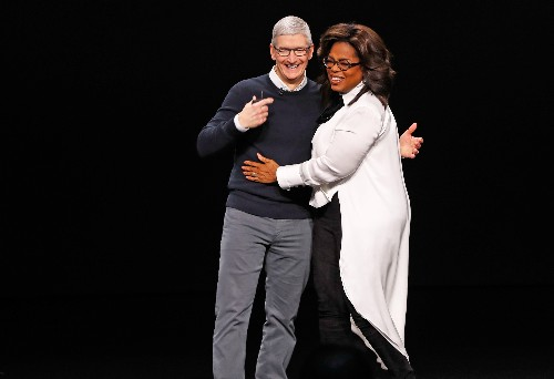Apple spotlights services with TV, gaming and credit card offerings