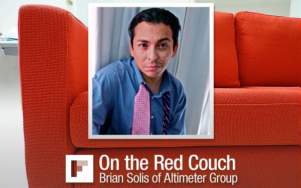 On the Red Couch: Brian Solis, Social Media Guru
