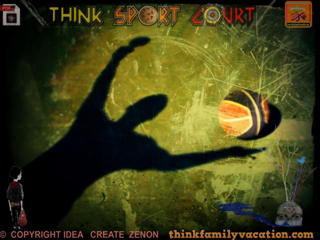 Think Sport Court by tFv - cover