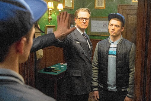 Review: Suave yet with comic book energy, 'Kingsman' goes spying