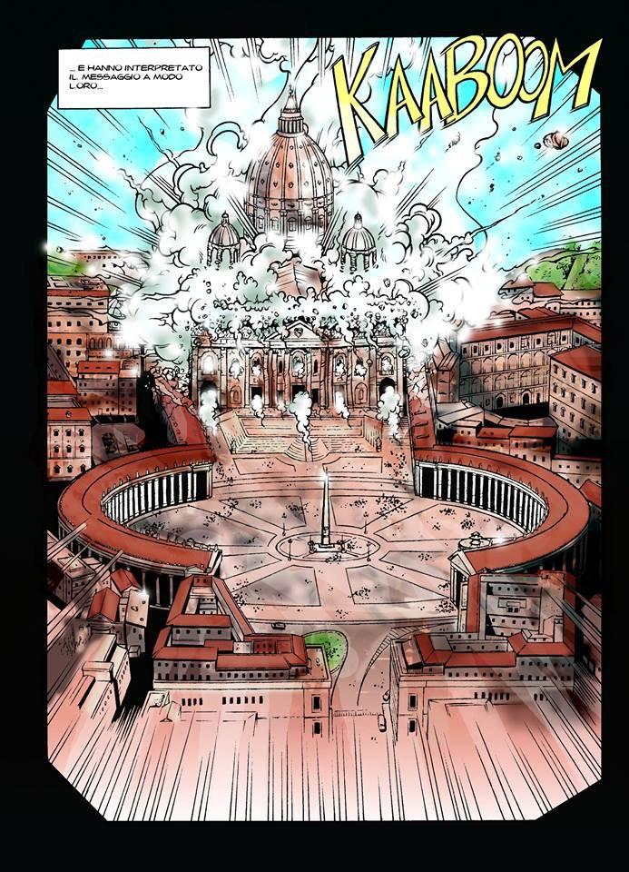 #scismafumetto - Magazine cover