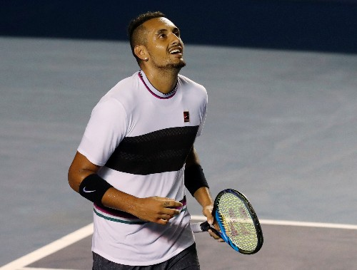 Tennis: Kyrgios throwing chairs okay, as long he cares - Wilander