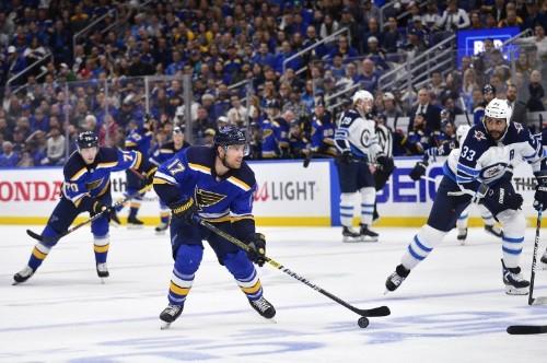 NHL roundup: Schwartz's hat trick helps Blues eliminate Jets