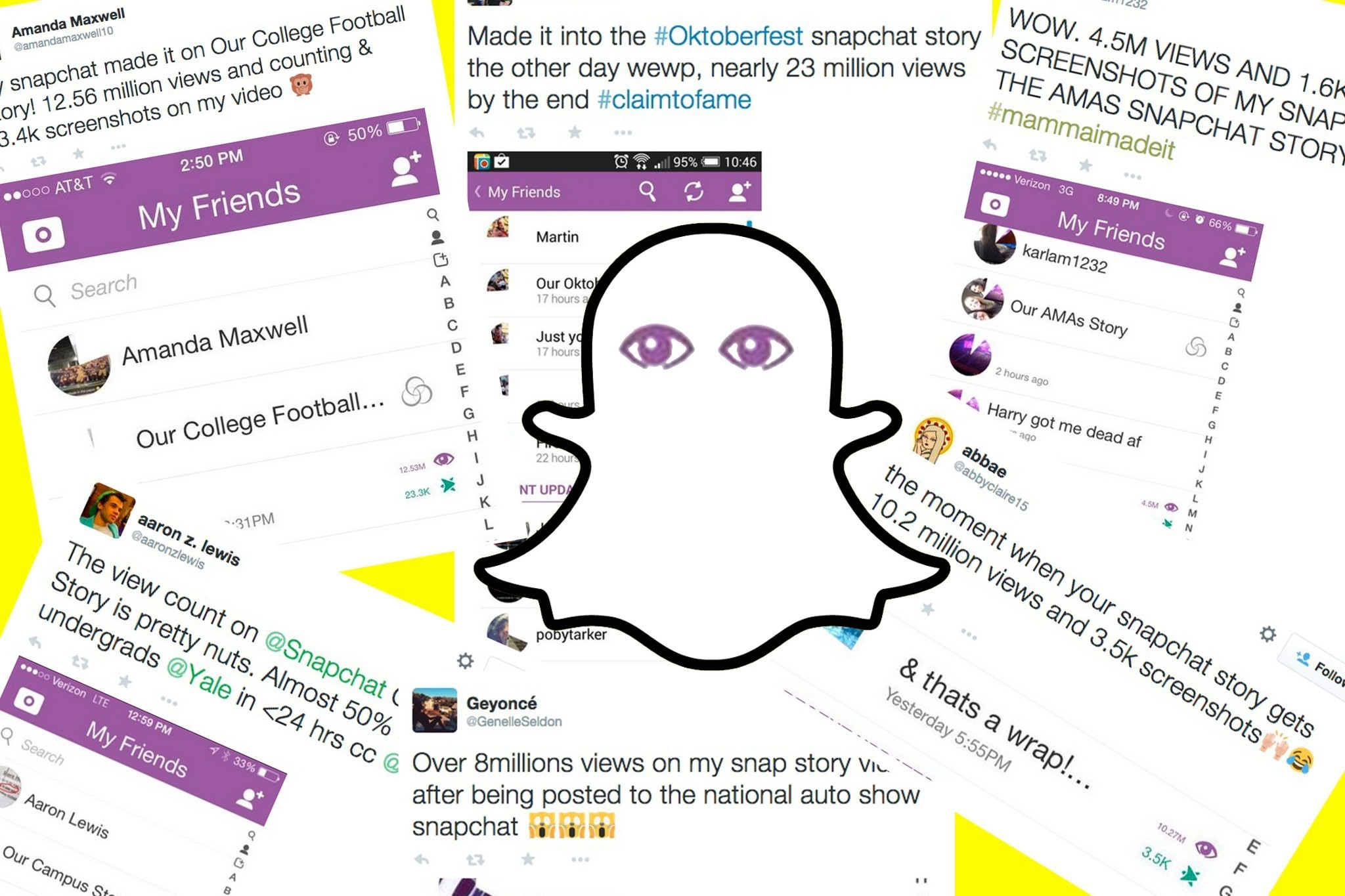 "Snapchat's ""Our Stories"" are generating tens of millions of views"