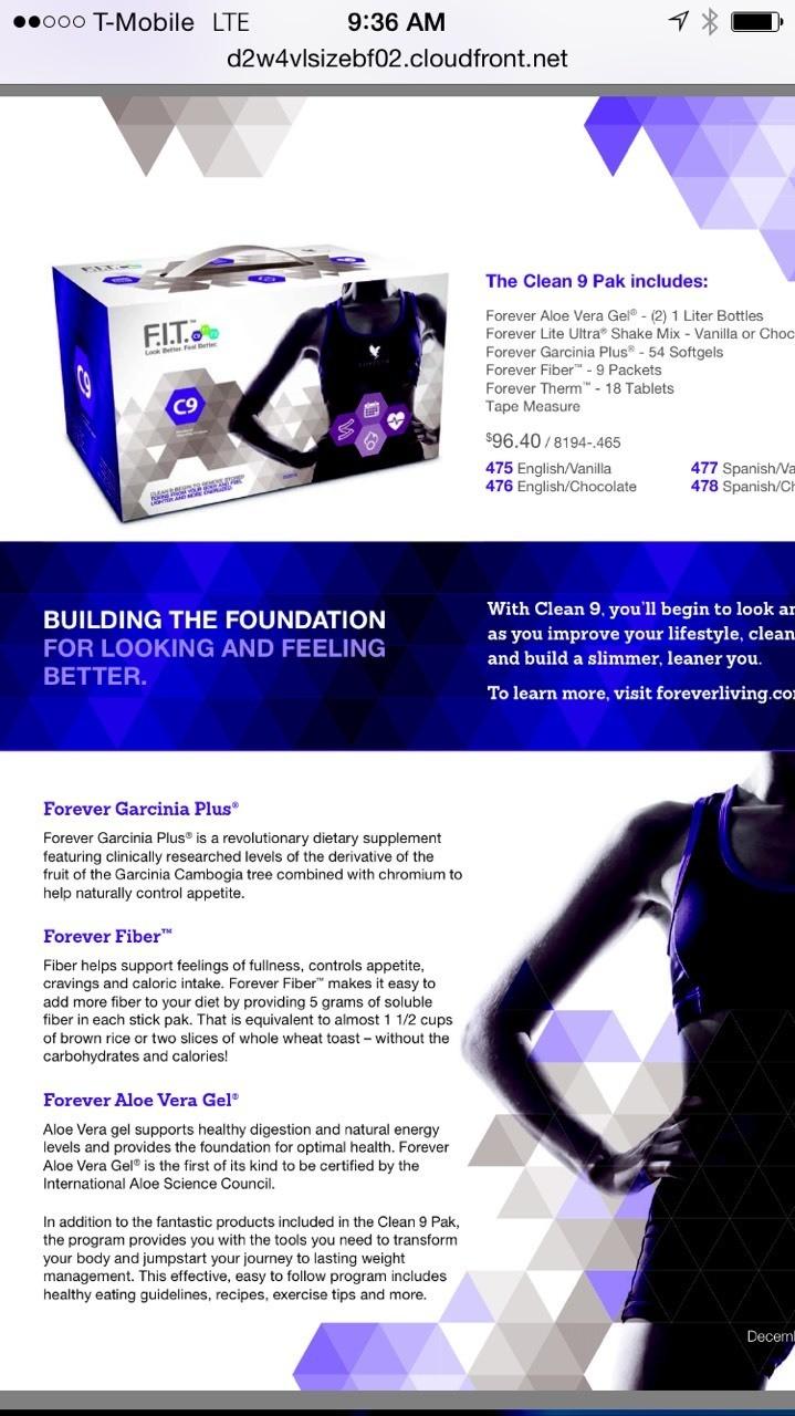 Detox program!! 595000000130.fbo.foreverliving.com