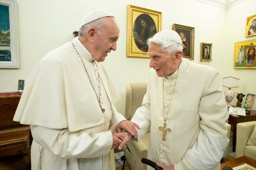 'Two Popes' filmmakers hope Pope Francis is amused