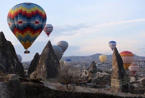Hot Air Ballooning in Historic Cappadocia: Pictures