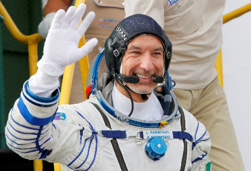 Italian astronaut to watch World Cup match from space