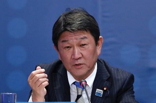 Japan's Motegi may visit U.S. next week to meet trade official Lighthizer