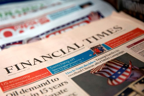 Khalaf picked as first woman to edit Financial Times, Barber bows out