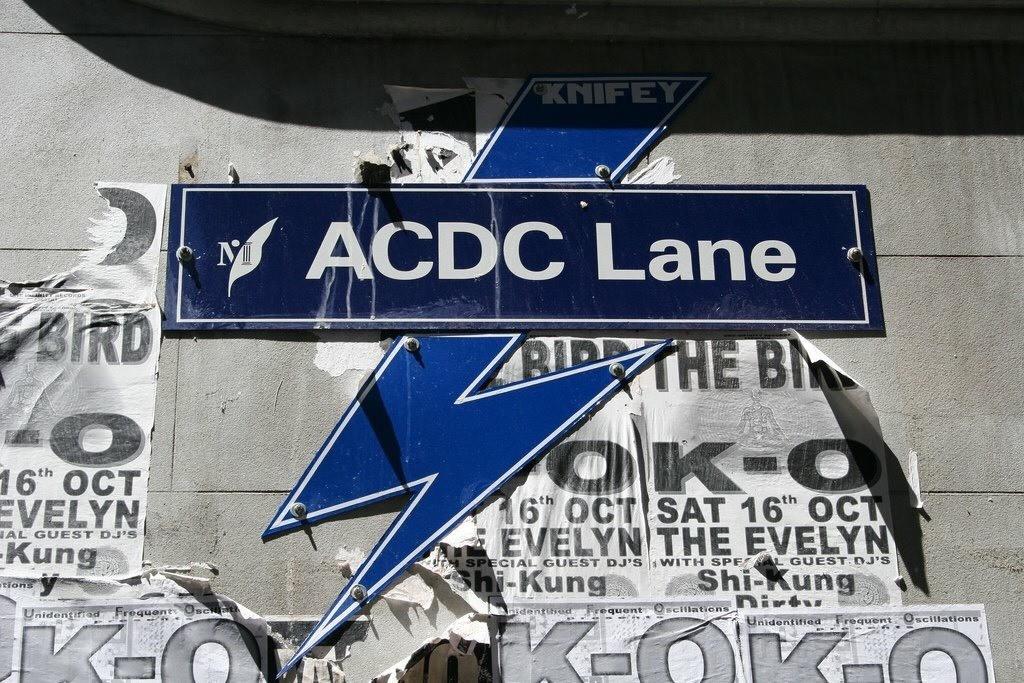AC/DC Lane, Melbourne.