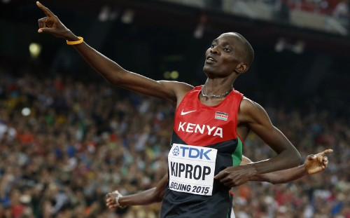Former Olympic champion Kiprop gets four-year doping ban
