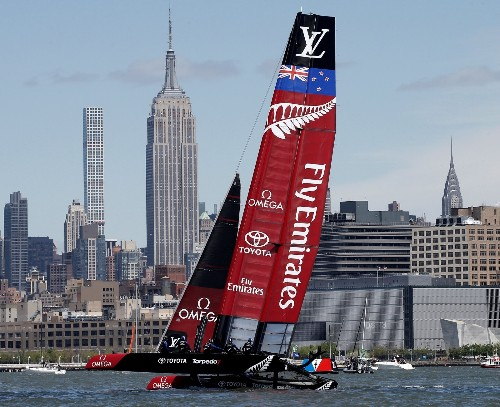 America's Cup Racing on the Hudson: Pictures