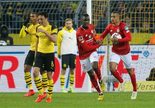 Soccer: Sancho double sends nervous Dortmund back on top