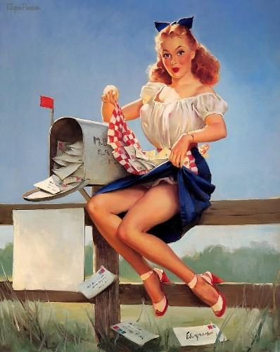 """"""" Pin  Up """"  e i  meravigliosi anni  50 .... - cover"""