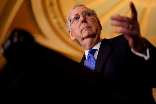 Senate Republican leader sees deal on budget caps, debt ceiling soon