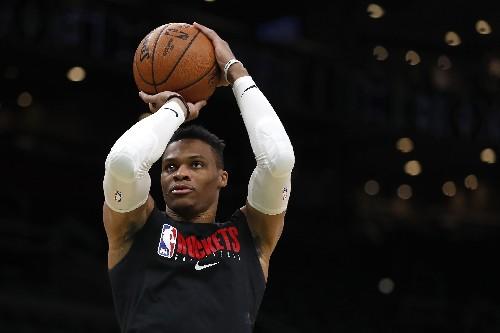 Westbrook, Rockets edge Celtics in OT thriller